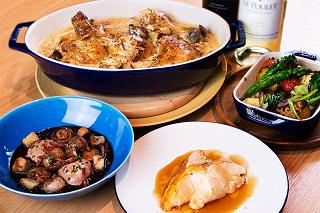 「鶏」という食材に特化し、多彩な調理法で「鶏」の魅力を存分に引き出した料理を提案するとのこと。