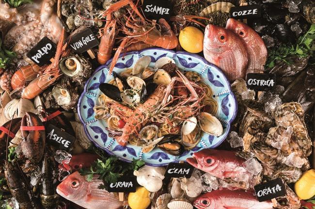"""「魚イタリアンと薪ピザ""""チロンボ・マリーナ""""」が上野の地に7月26日水にグランドオープン。"""
