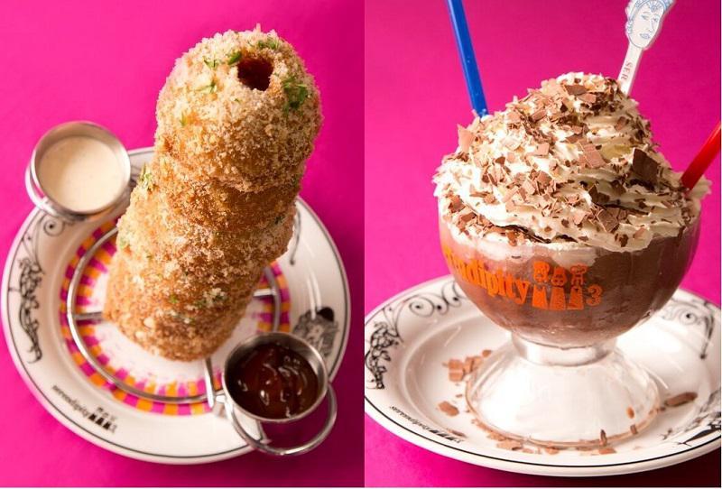 20センチ以上もの高さがあるフォトジェニックな「Frrrozen Hot Chocolate (フローズン ホットチョコレート)」は、ハリウッドスターをはじめとする数多くのセレブリティが虜になったデザートドリンク