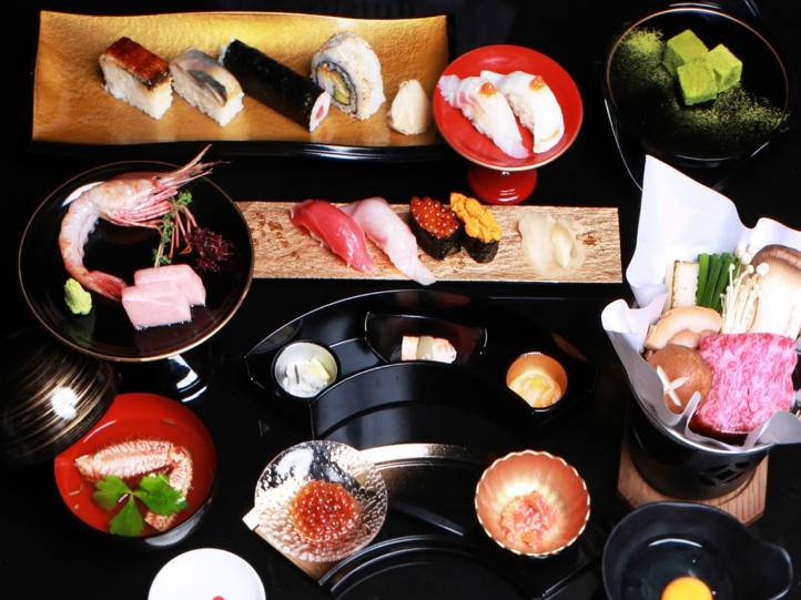 季節によって変動する前菜「北海道産珍味五選」
