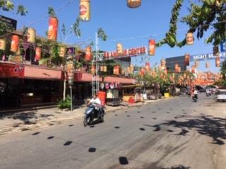 カンボジアの町