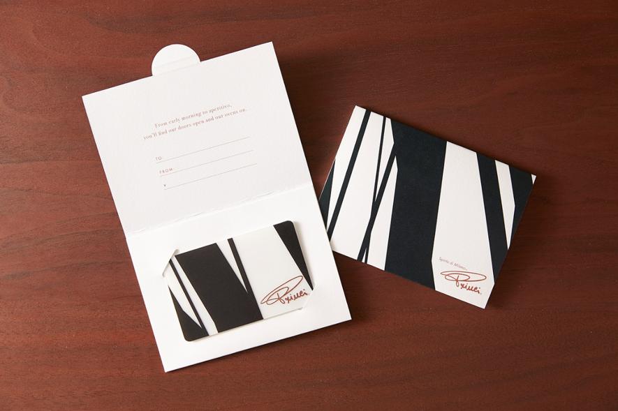 貴重なプリンチ限定デザインのスターバックスカード プリンチを象徴する白と黒で小麦の穂をイメージしたプリンチ限定デザインのスターバックスカードが登場。