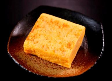 本格玉子焼きは1/2本350円。